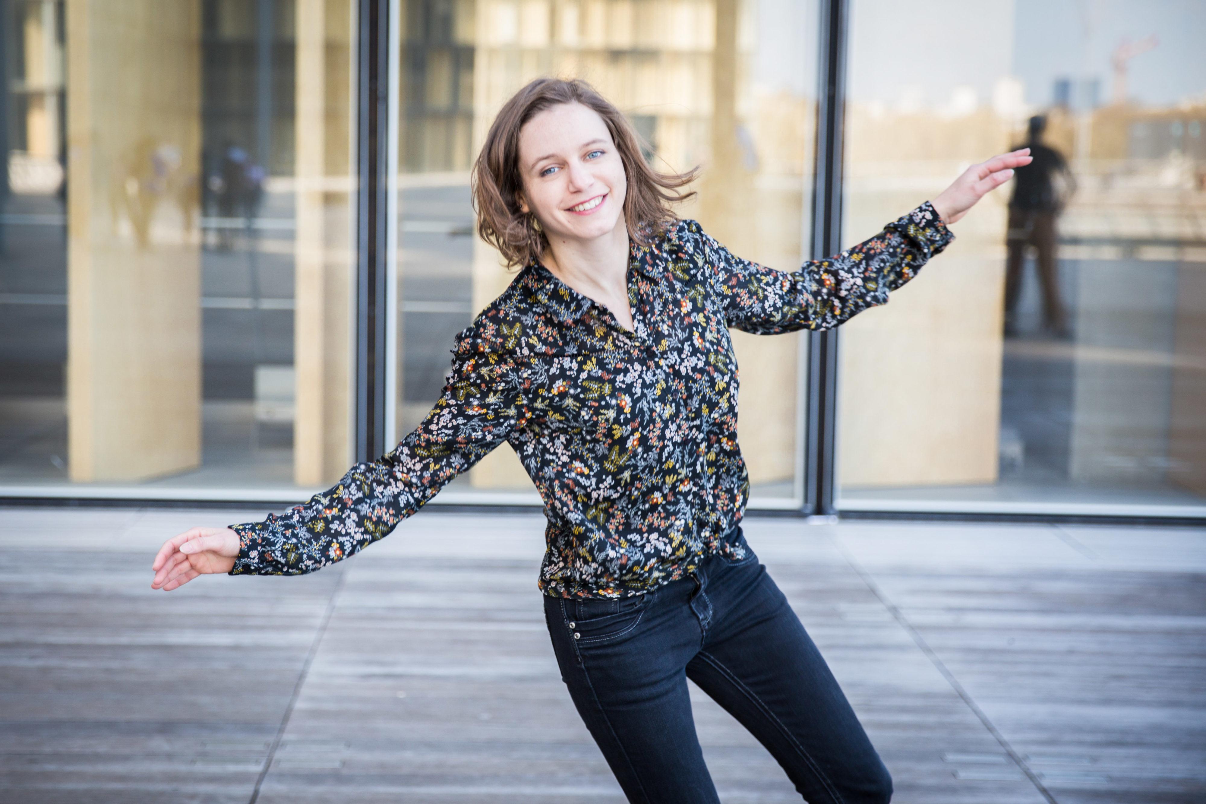 Agathe danse à la BNF