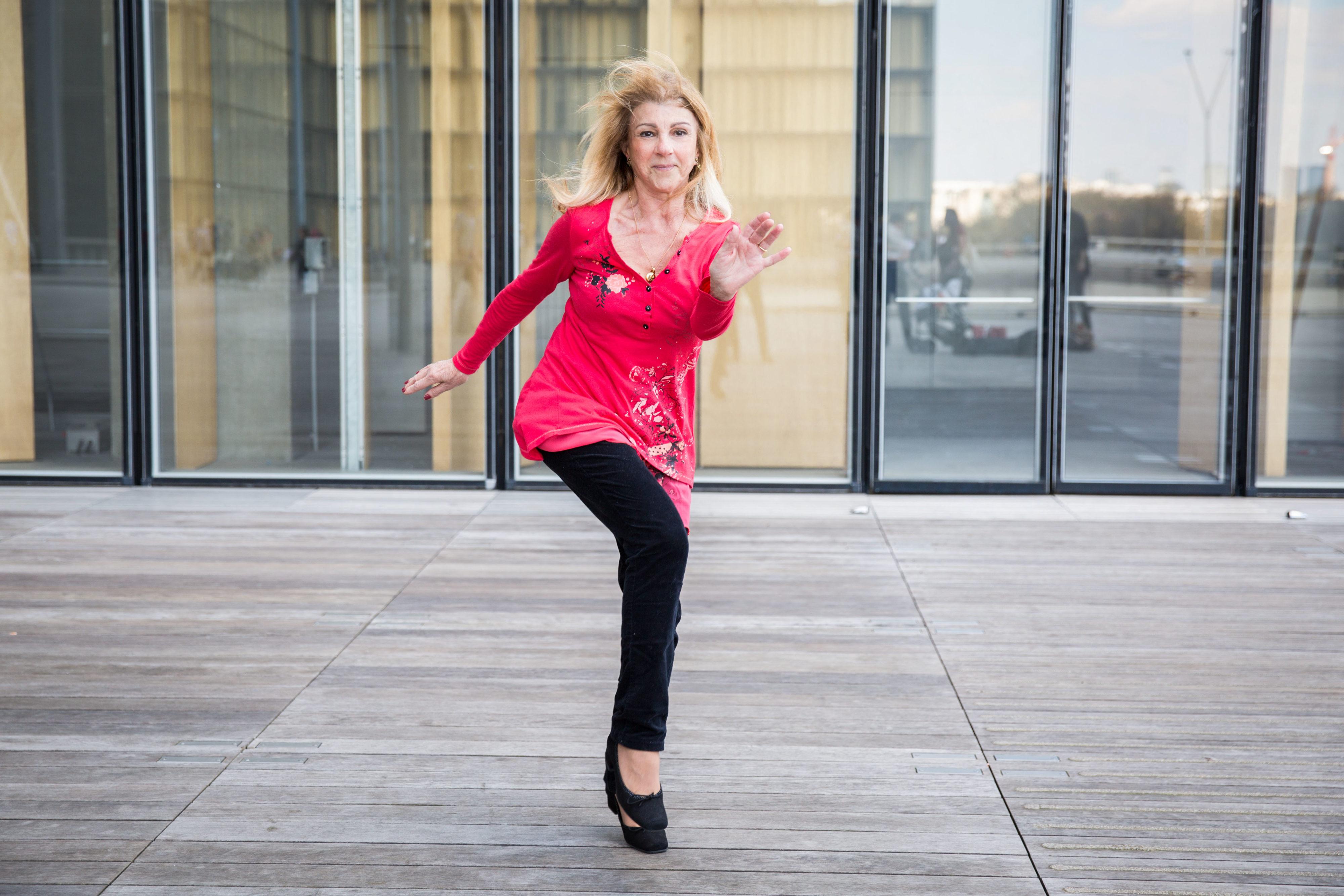 Fan danse à la BNF
