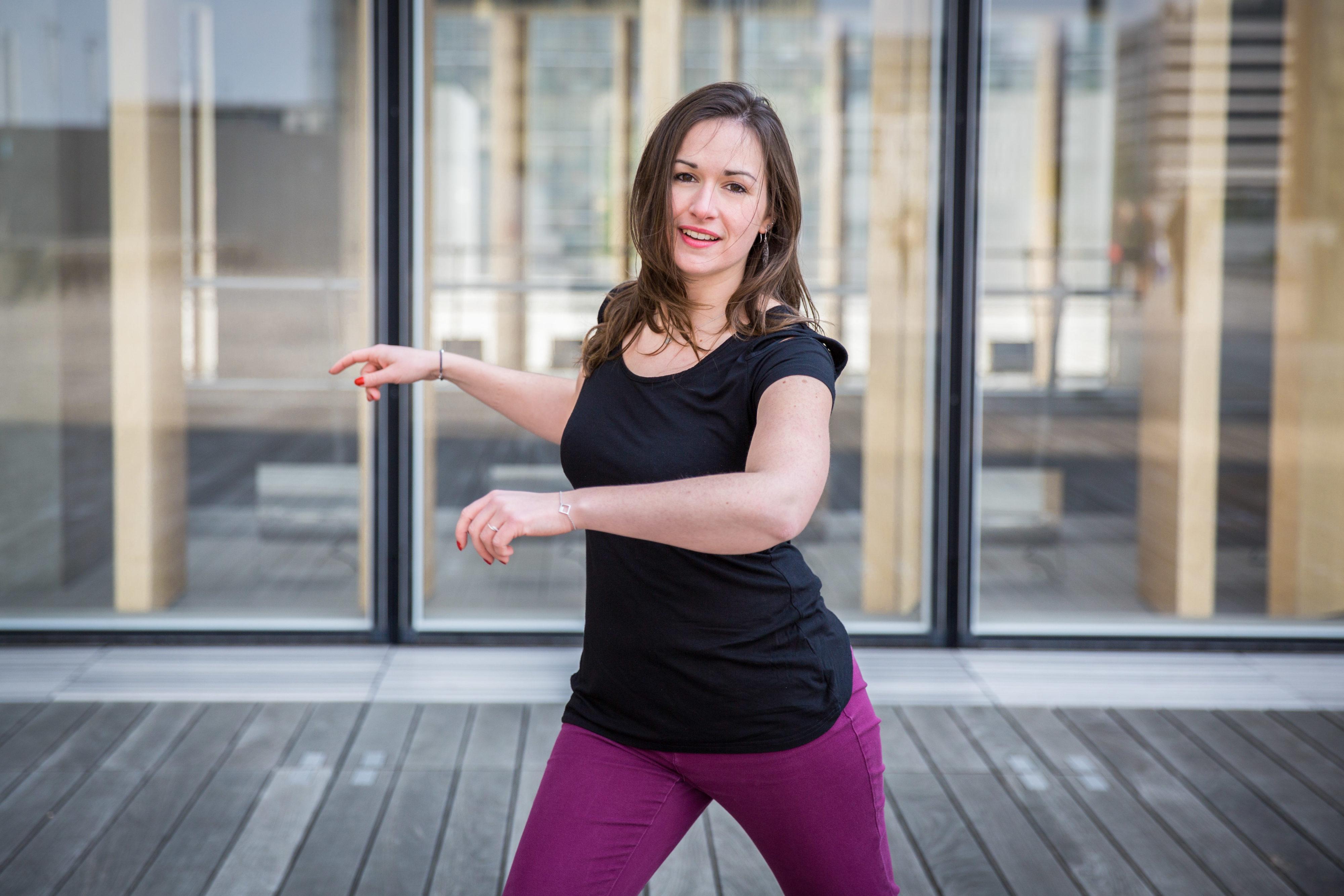 Kelly danse à la BNF