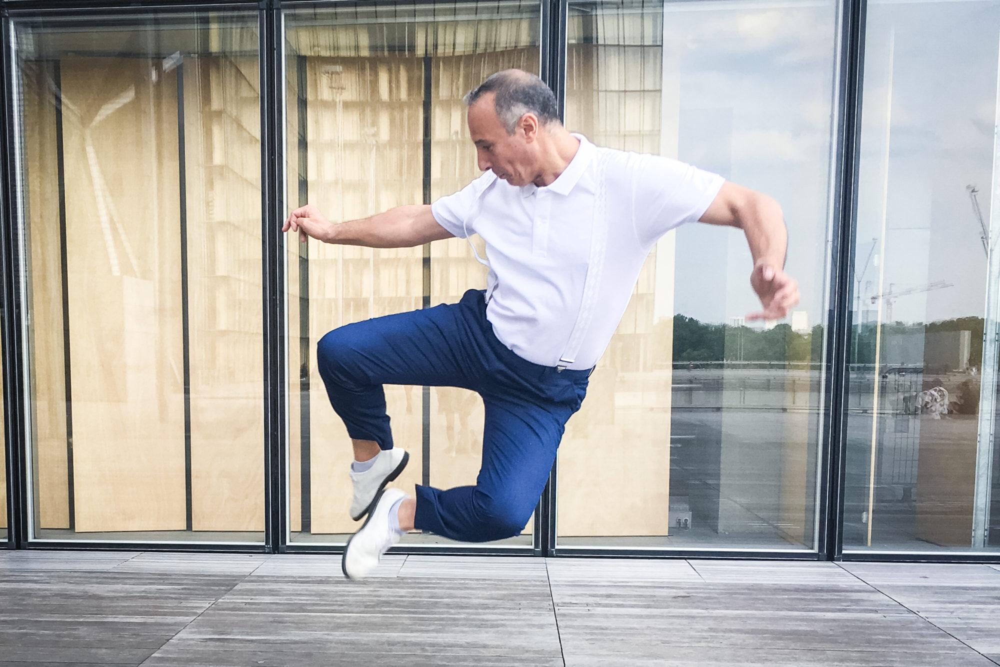 Marc danse à la BNF