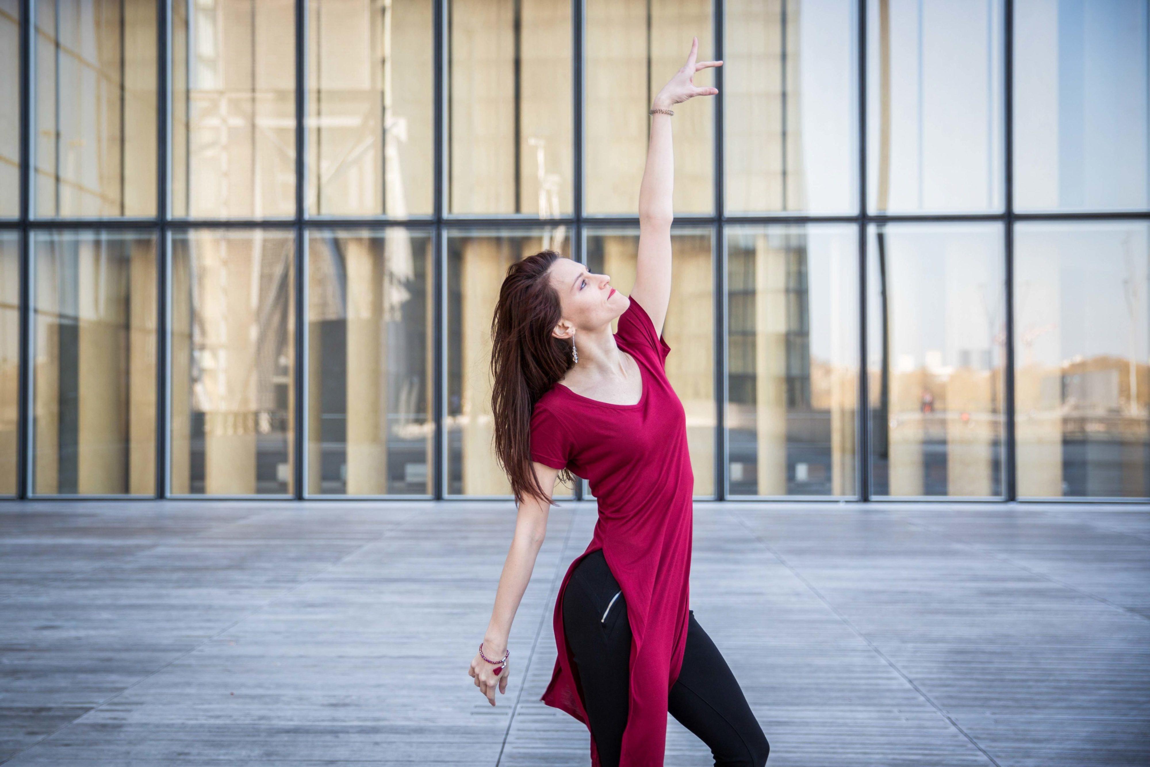 Sabrina danse à la BNF
